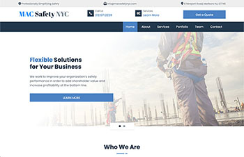 Government Bootstrap Wordpress Theme Example